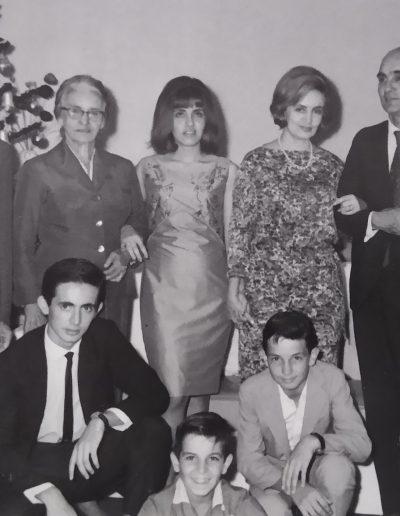 Rômulo Bodas Prata (família completa 21-12-1964)