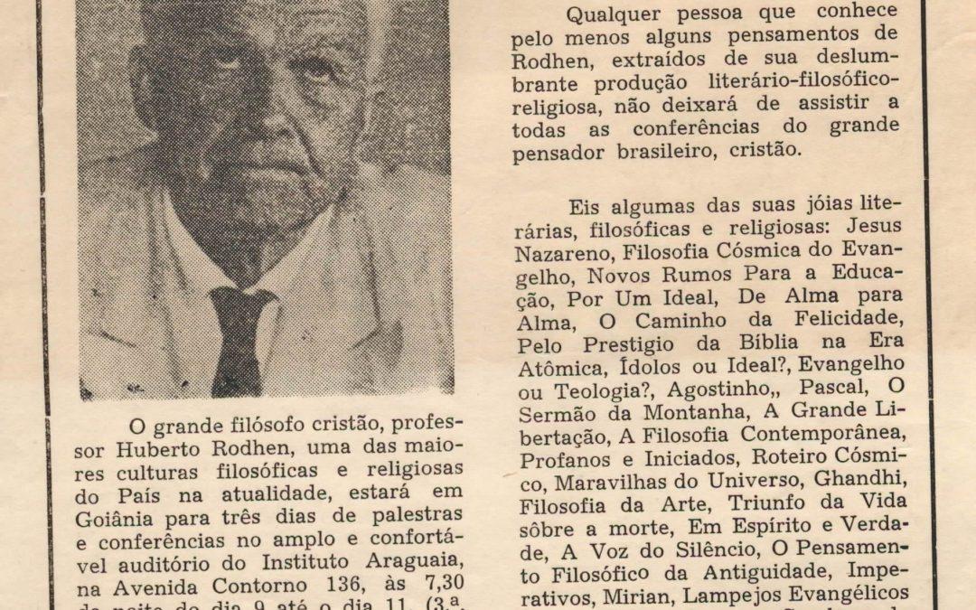 Huberto Rohden e o advogado místico
